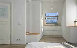 Kleiderschrank Für Schrägen : begehbarer kleiderschrank im schlafzimmer meine m belmanufaktur ~ Sanjose-hotels-ca.com Haus und Dekorationen