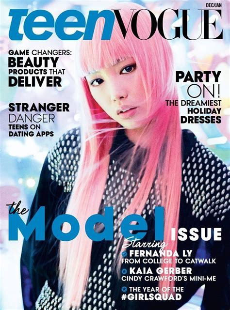 Fernanda Ly Lands Teen Vogue Cover, Talks Modeling Career ...