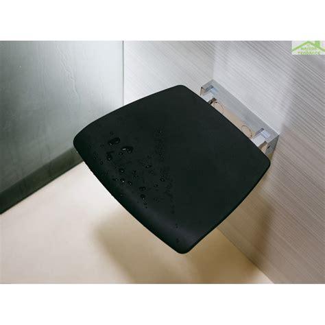 siège mural escamotable pour novellini en métal chromé