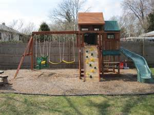 Backyard Playground Swing Sets