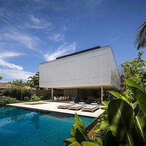 Tropical, Minimalist, House