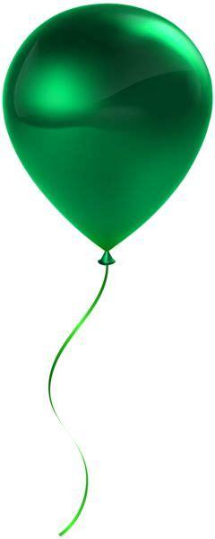 Single Green Balloon Transparent Clip Art | Green balloon ...