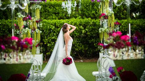 wedding venues in miami miami botanical garden