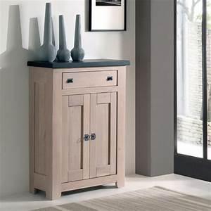 Meuble Deux Portes : meuble d 39 appui 2 portes whitney meubles rigaud ~ Teatrodelosmanantiales.com Idées de Décoration