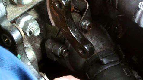 toyota dd water pump replacment  diesel youtube