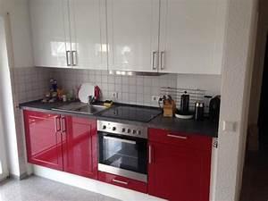 Küche Rot Hochglanz : traumhaft sch ne alno k che hochglanz rot hochglanz wei in obrigheim k chenzeilen ~ Yasmunasinghe.com Haus und Dekorationen