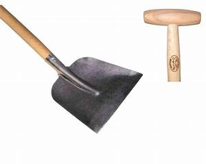 Concrete / snow shovel ash T-handle 1100mm | DeWit