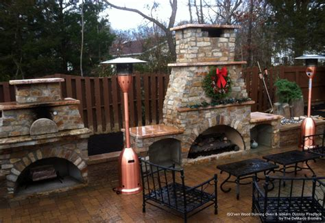 outdoor kitchen fireplace ideas entertaining outdoors during the holidays