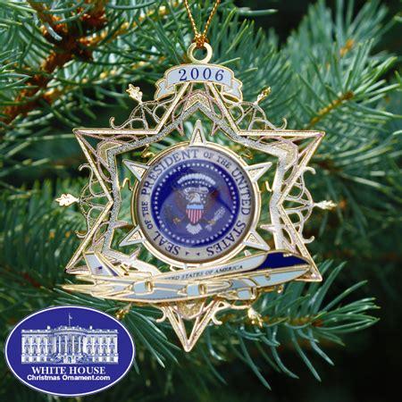 white house air force  ornament