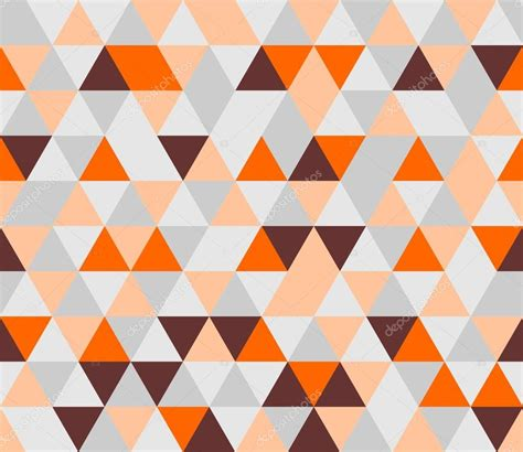 Grey And White Chevron Fabric by Colorful Tile Background Vector Illustration Grey Orange