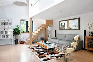 minimalist style living room and stairs design With interior design for living room with stairs