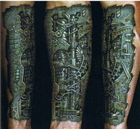 Mechanical Tattoo  Tattoos  Pinterest Mechanical