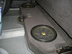 dodge ram quad cab  box dual  bass bundle