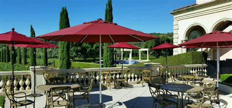 In spring, wisteria vines burst with blooms and thousands of tulips brighten the. Ferrari-Carano Vineyards and Winery   WineMaps