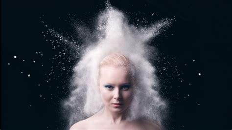 Creative Portrait Photography With Powder Photosniff
