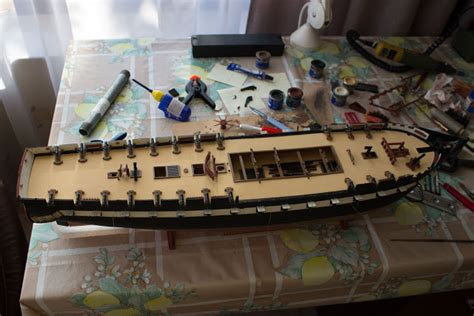 sailing ship models uss constitution pinrails  catheads