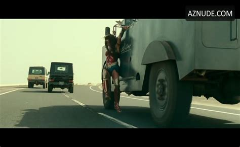Gal Gadot Sexy Scene In Wonder Woman 1984 Aznude