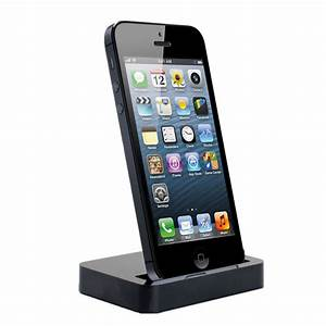 Dockingstation Iphone 5s : charging dock desktop stand docking station for apple iphone 5 5c 5s black ebay ~ Orissabook.com Haus und Dekorationen
