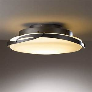 Hubbardton forge led flora semi flush mount