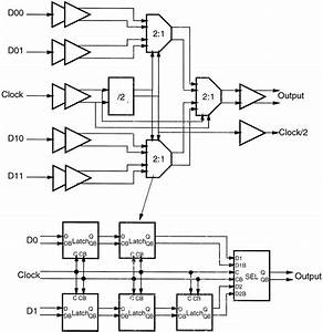 Simplified Block Diagram Of The 4   1 Multiplexer Circuit