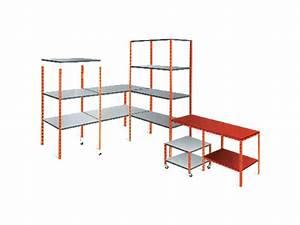 Corniere Perforee Pour Rayonnage : accessoires pour rayonnage fournisseurs industriels ~ Melissatoandfro.com Idées de Décoration