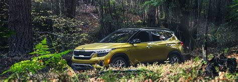 kia seltos  color options