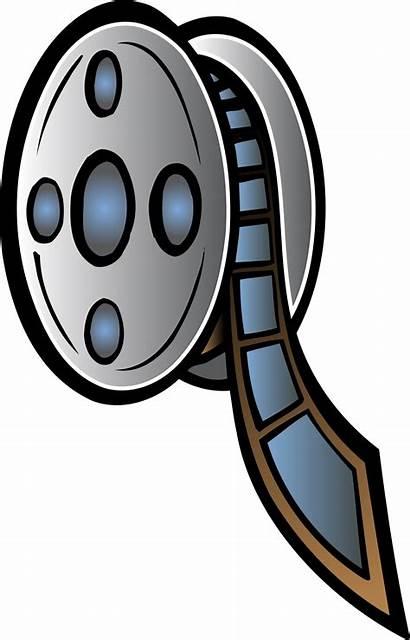 Film Clipart Movie Strip Clipartmag Reel