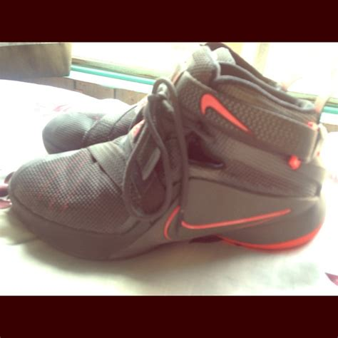 nike shoes pink  grey lebron basketball poshmark