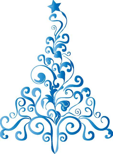 225 rboles de navidad en color azul