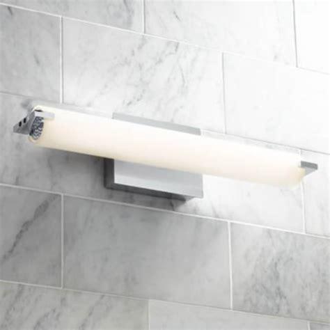 george kovacs   wide chrome led bath light