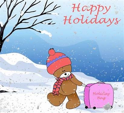 Holiday Greetings Holidays Happy Christmas Ecard Friends
