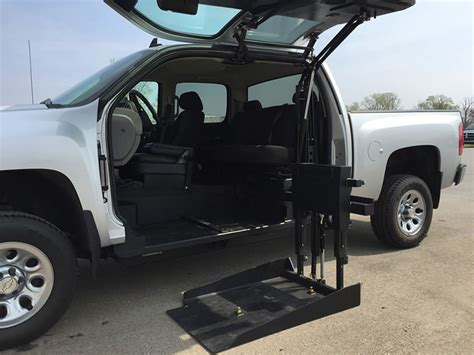 ford raptor lifted all terrain conversions wheelchair lift