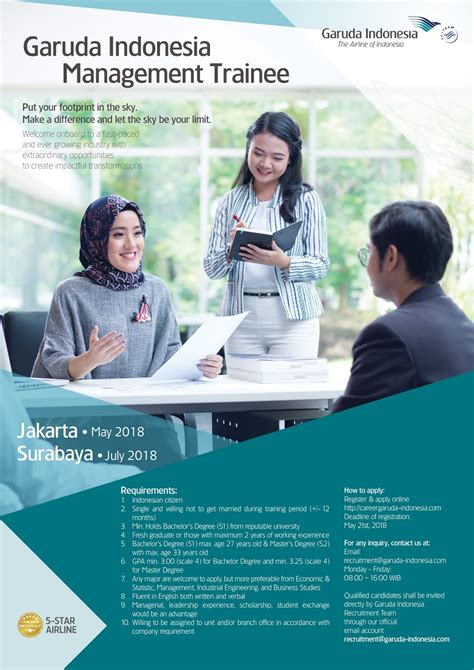lowongan kerja lowongan kerja terbaru garuda indonesia