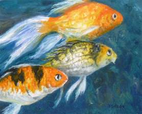 Fish Oil Painting Art