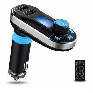 Comparatif Kit Bluetooth Voiture : kit bluetooth transmetteur fm et lecteur mp3 sd double usb pour voiture accessoire voiture ~ Medecine-chirurgie-esthetiques.com Avis de Voitures