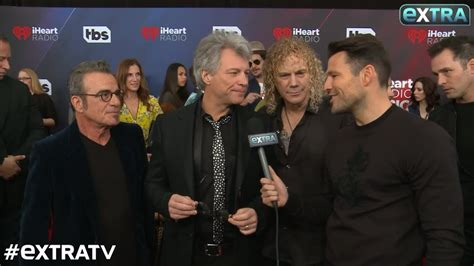 Bon Jovi Receives The Icon Award Iheartradio Music
