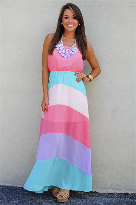 pastel class maxi dress coral multi from s new