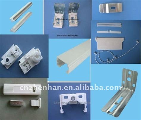 vertical blind component quot l quot type iron vertical mounting