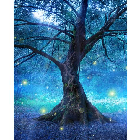 Tree Photo Backdrop by Enchanted Tree Printed Backdrop Backdrop Express