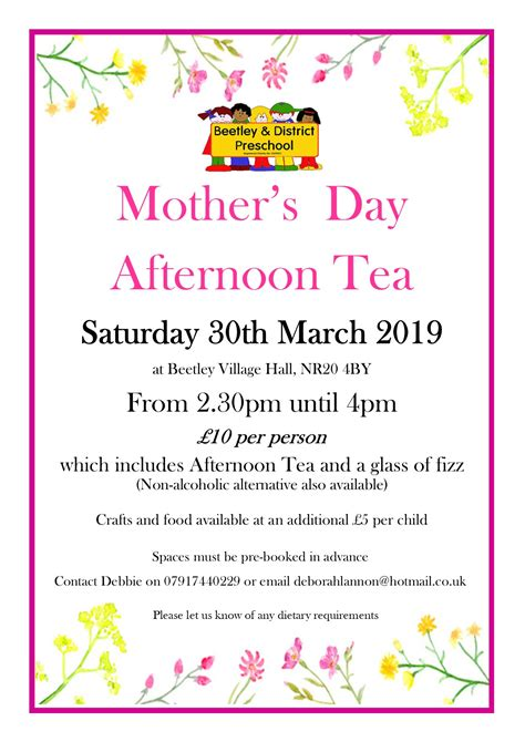 afternoon tea 2019 beetley preschool 811 | Afternoon Tea 2019