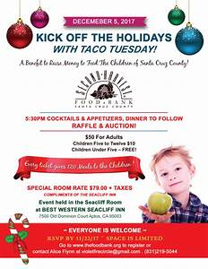 Taco Tuesday - A Benefit to Feed the Children of Santa ...