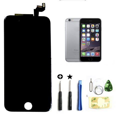 iphone screen replacement kit black iphone 6s 4 7 inch retina lcd touch screen digitizer 1208