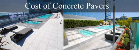 Tile Tech Pavers Los Angeles by Large Concrete Pavers Posts Tagged Concrete Squares Patio
