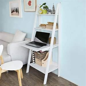 Etagere Echelle Bureau : ladder shelf with desk hostgarcia ~ Teatrodelosmanantiales.com Idées de Décoration