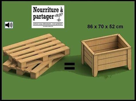 fabriquer un bac a tuto fabriquer un bac 224 jardiner en bois de palette gt test 233 attention il est tr 232 s difficile