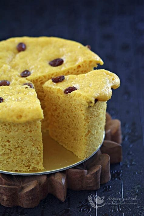 steamed chinese pumpkin cake anncoo journal