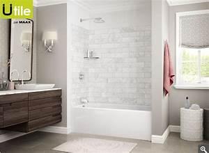 Douche Mur Verre : ensemble de murs utile pour bain douche panneau murale ~ Zukunftsfamilie.com Idées de Décoration