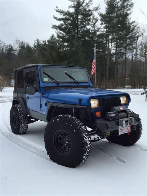 jeep wrangler yj built 1992 jeep wrangler yj rock crawler lift lockers armor d44 8 8 ox detroit classic jeep