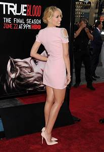 Anna Camp attends Premiere Of HBO's 'True Blood' Season 7 ...