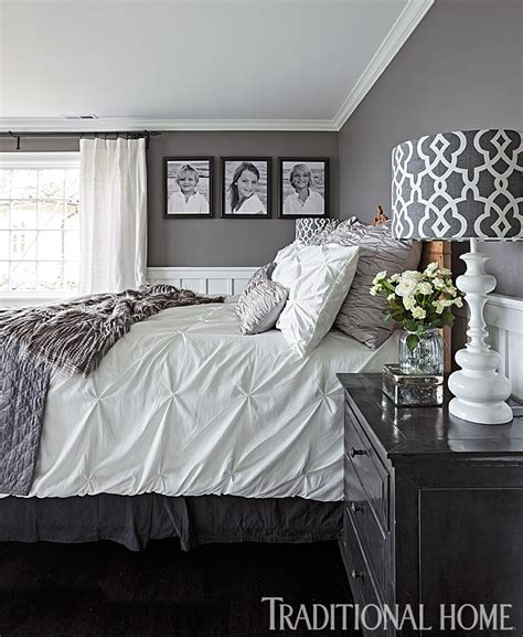 Gorgeous Gray And White Bedrooms by Gorgeous Gray And White Bedrooms Traditional Home